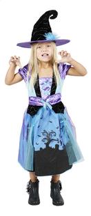 Verkleedpak heks paars en blauw maat 110-Afbeelding 1