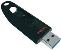 SanDisk clé USB Cruzer Ultra 32 Go noir-Côté gauche