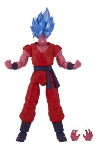 Dragon Ball figurine articulée Saiyan Blue Kaioken x10 Goku-commercieel beeld