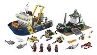 LEGO City 60095 Diepzee onderzoeksschip-Vooraanzicht