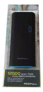 Powfull Dual USB Powerbank 12500 mAH P86