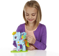 Play-Doh My Little Pony Rainbow Dash Style Salon-Afbeelding 1