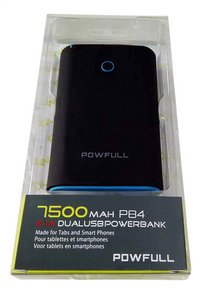 Powfull Dual USB Powerbank 7500 mAH P84