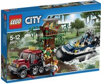 LEGO City 60071 L'arrestation en hydroglisseur-Avant