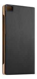 Huawei foliocover P8 Lite zwart-Linkerzijde
