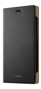 Huawei foliocover P8 Lite zwart-Rechterzijde