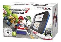 Nintendo 2DS console zwart + Mario Kart 7 NL/FR