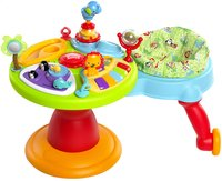 Bright Starts activiteitentafel Activity Center Zippity Zoo 3-in-1 Around We Go!-commercieel beeld