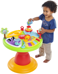 Bright Starts activiteitentafel Activity Center Zippity Zoo 3-in-1 Around We Go!-Afbeelding 3