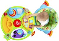 Bright Starts activiteitentafel Activity Center Zippity Zoo 3-in-1 Around We Go!-Bovenaanzicht