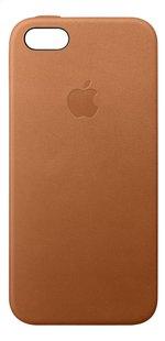 Apple coque len cuir pour iPhone 5/5S/SE brun