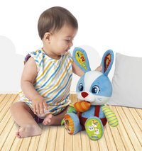 baby Clementoni peluche interactive Lillo the Rabbit bilingue FR/NL-Image 2