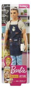 Barbie mannequinpop Careers Ken Barista-Vooraanzicht