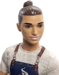 Barbie mannequinpop Careers Ken Barista-Artikeldetail