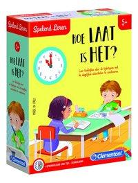Spelend leren: Hoe laat is het?-Linkerzijde