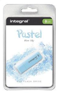 Integral clé USB Pastel 8 Go bleu clair
