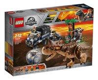 LEGO Jurassic World 75929 Gyrobolontsnapping van Carnotaurus-Linkerzijde