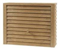Garantia Tonneau de pluie Woody aspect bois clair 350 l-Avant