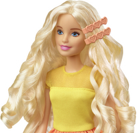Barbie poupée mannequin  Boucles suprêmes-Vue du haut
