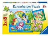 Ravensburger puzzle 3 en 1 Les poneys au pays des merveilles