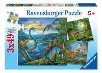 Ravensburger 3-in-1 puzzel Dinosauriërs