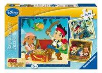 Ravensburger puzzle 3 en 1 Jake et le monde des Pirates