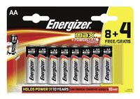 Energizer Max pile AA - 12 pièces