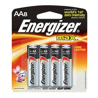 Energizer Max pile AA - 8 pièces