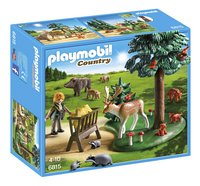 Playmobil Country 6815 Garde forestière avec animaux