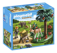 Playmobil Country 6815 Garde forestière avec animaux-Avant
