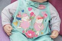 Baby Annabell kledijset romper groen-Artikeldetail