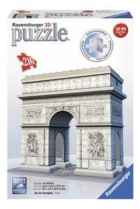 Ravensburger 3D-puzzel Parijs Arc de Triomphe-Vooraanzicht