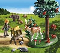 Playmobil Country 6815 Voederplaats voor bosdieren-Afbeelding 1