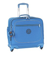 Kipling trolley-boekentas Manary Blue Green Mix 42 cm