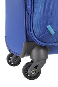 American Tourister Zachte reistrolley Lightway Spinner EXP blue/light blue 55 cm-Onderkant