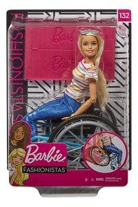 Barbie Fashionistas 132 - Barbie met rolstoel-Vooraanzicht