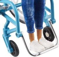 Barbie Fashionistas 132 - Barbie en chaise roulante-Base