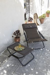 Lafuma Relaxzetel Transabed XL Plus Air Comfort taupe-Afbeelding 1