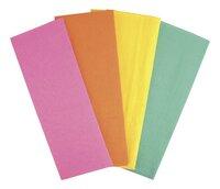 Crêpepapier felle kleuren - 4 vellen