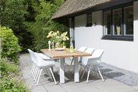 Hartman Table de jardin Yasmani vintage brown/blanc L 240 x Lg 100 cm-Image 1