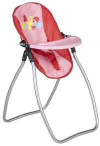 DreamLand chaise haute pour poupées 2 en 1