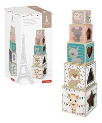 Janod houten stapeltoren Sophie la Girafe-Artikeldetail