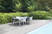 Hartman Table de jardin Sophie Studio blanc L 240 x Lg 100 cm-Image 1