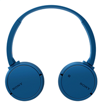 Sony casque Bluetooth MDR-ZX220BT bleu