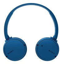 Sony casque Bluetooth MDR-ZX220BT bleu-Avant