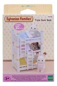 Sylvanian Families 4448 - Lits superposés à 3 couchettes-Avant