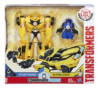 Set Transformers Robots in disguise Combiner Force Stuntwing & Bumblebee