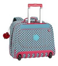 Kipling trolley-boekentas Clas Dallin Summer Pop Bl 42,5 cm