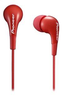 Pioneer oortelefoon in ear 100mW SE-CL502-L rood