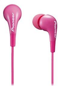 Pioneer oortelefoon in ear 100mW SE-CL502-L roze